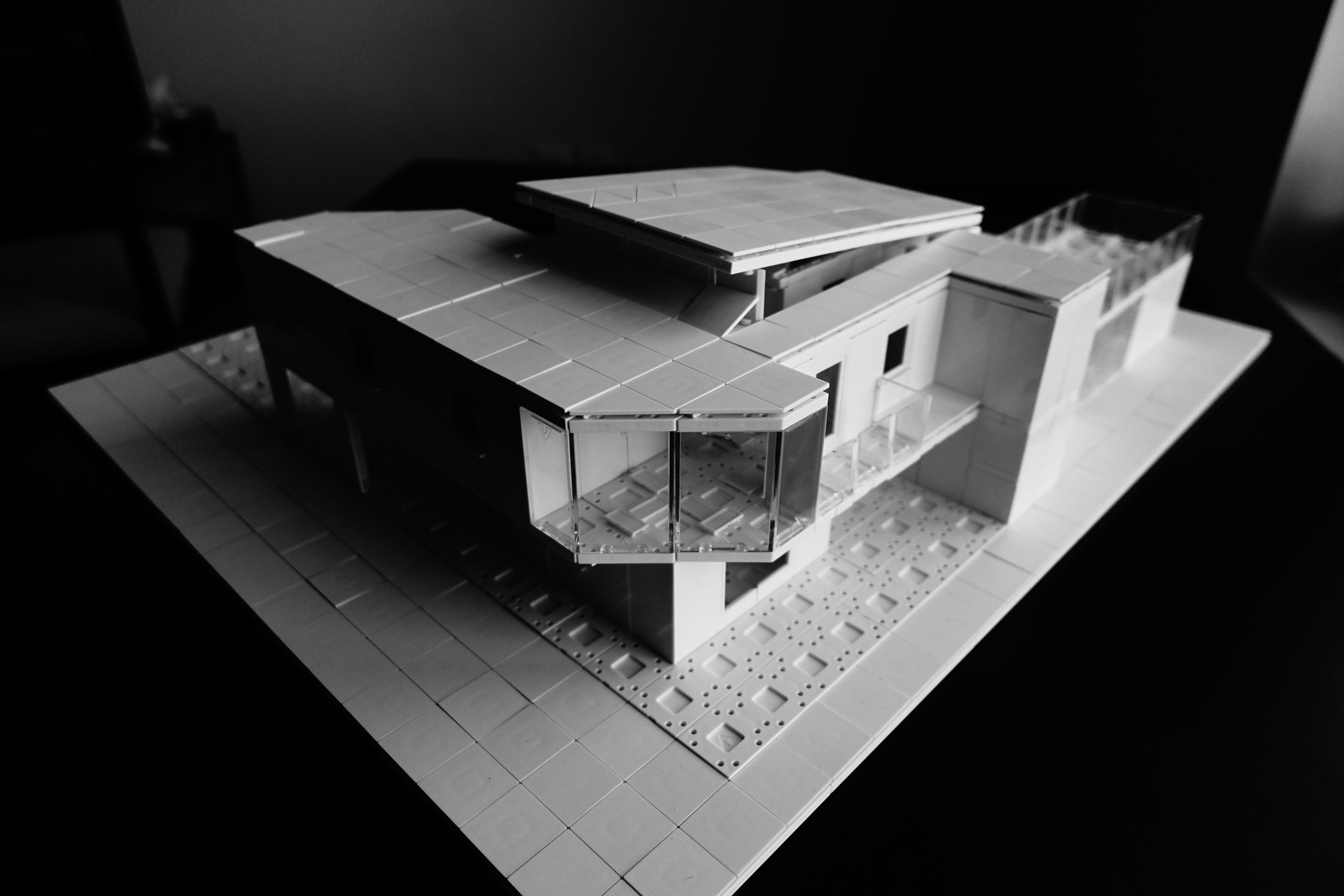 Arckit Model 35B - Using Angled Tiles