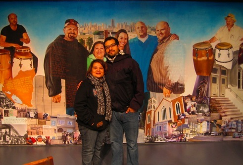 In the fall of 2009 I connected with Mercy Jimenez and her family through Poder – an organization working for environmental and economic rights in the Mission.   Mercy is one of the group's longest active members, born and raised in the Mission District and the daughter of Nicaraguan immigrants active in Latino rights causes.  Working closely with the Jimenez family over the following six months, we created a piece that tells the history of their Mission over the past 20 years through the story and perspective of their family – including family photos, historical photos from El Tecolote photo archive, text from interviews with the family, poetry and neighborhood photos.