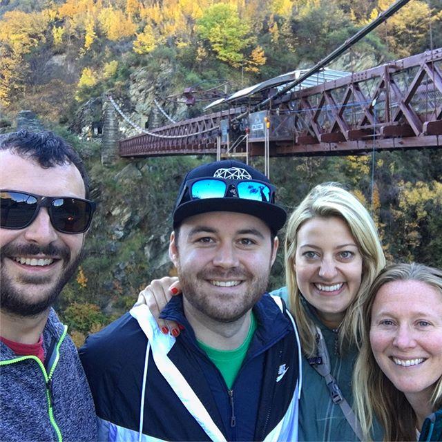 NZ Day 2: Friends, Bungee, Winery & Fergburger