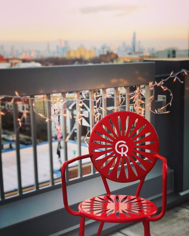 Pretty nice to have a terrace for your terrace chair. Thanks again, @gussick !
