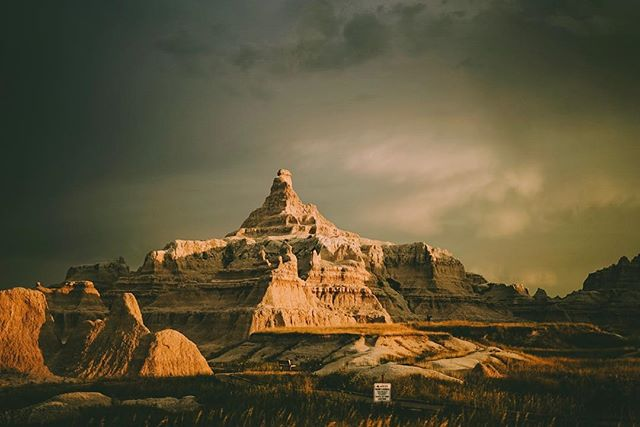 Badlands National Park- one of the most active paleontology sites in the United States. There were alligators there not that long ago. Alligators. In South Dakota. Can you imagine?