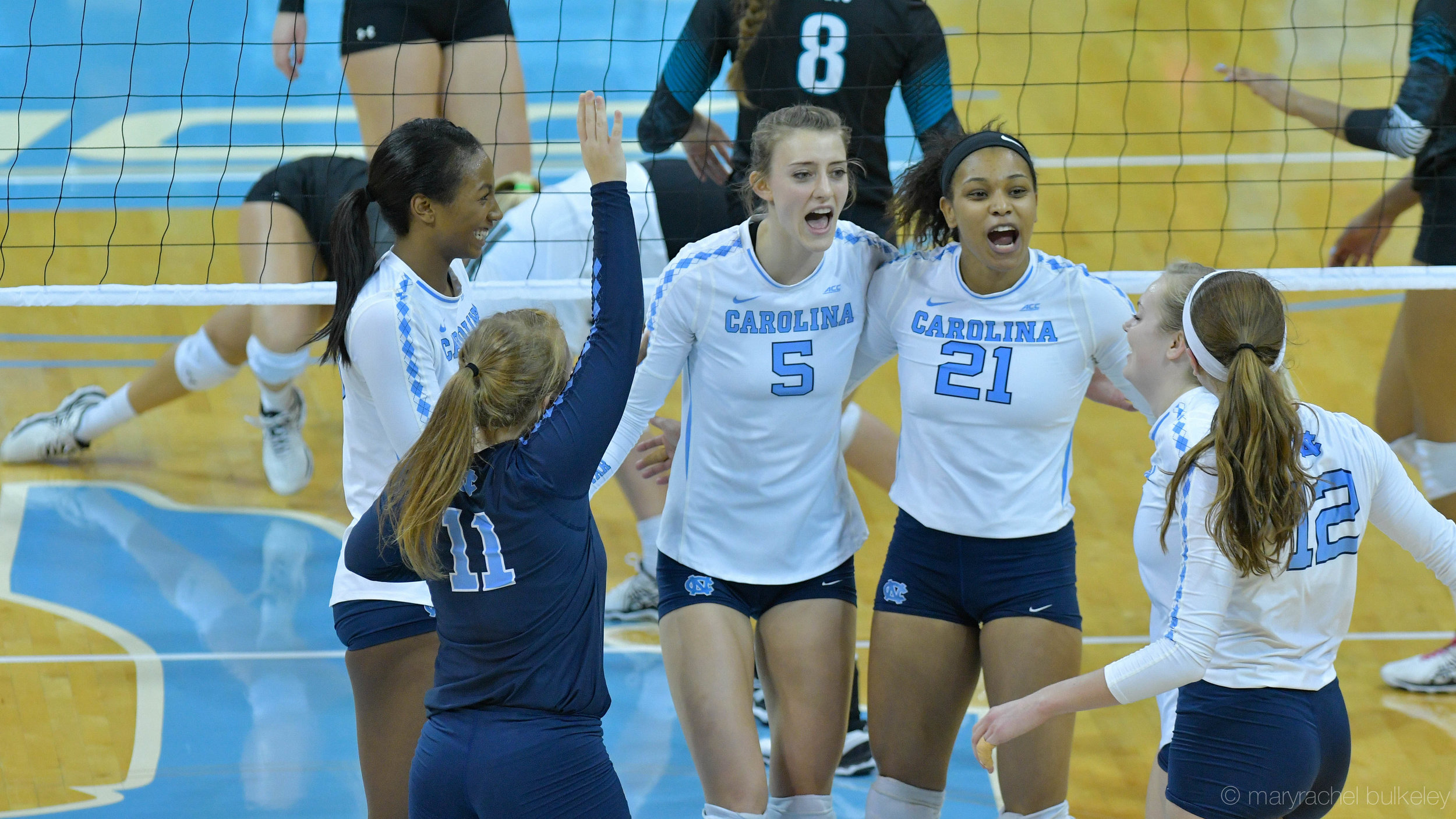 Story:   Tar Heels Punch Ticket To Regionals With Four-Set Victory