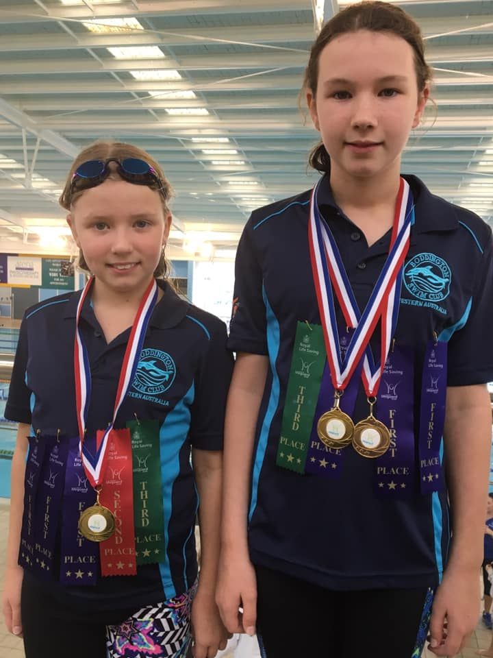 Congratulations! -  Gemma (left) Emily (right).