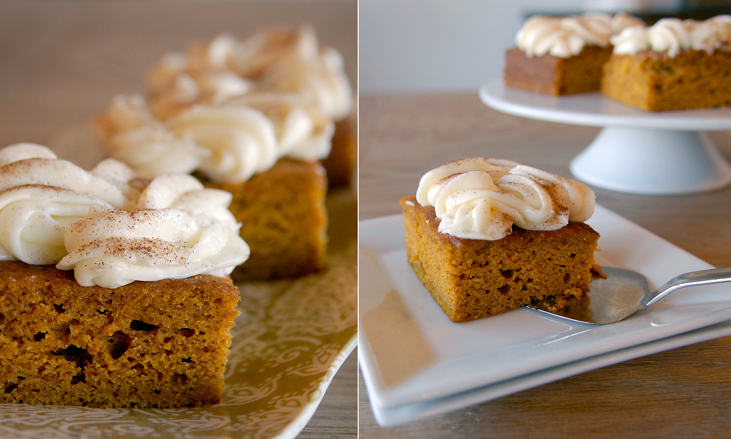 Pumpkin Bars   3.95 each /46 per box of 12  A Maxie B's favorite! Topped with a little cream cheese icing!