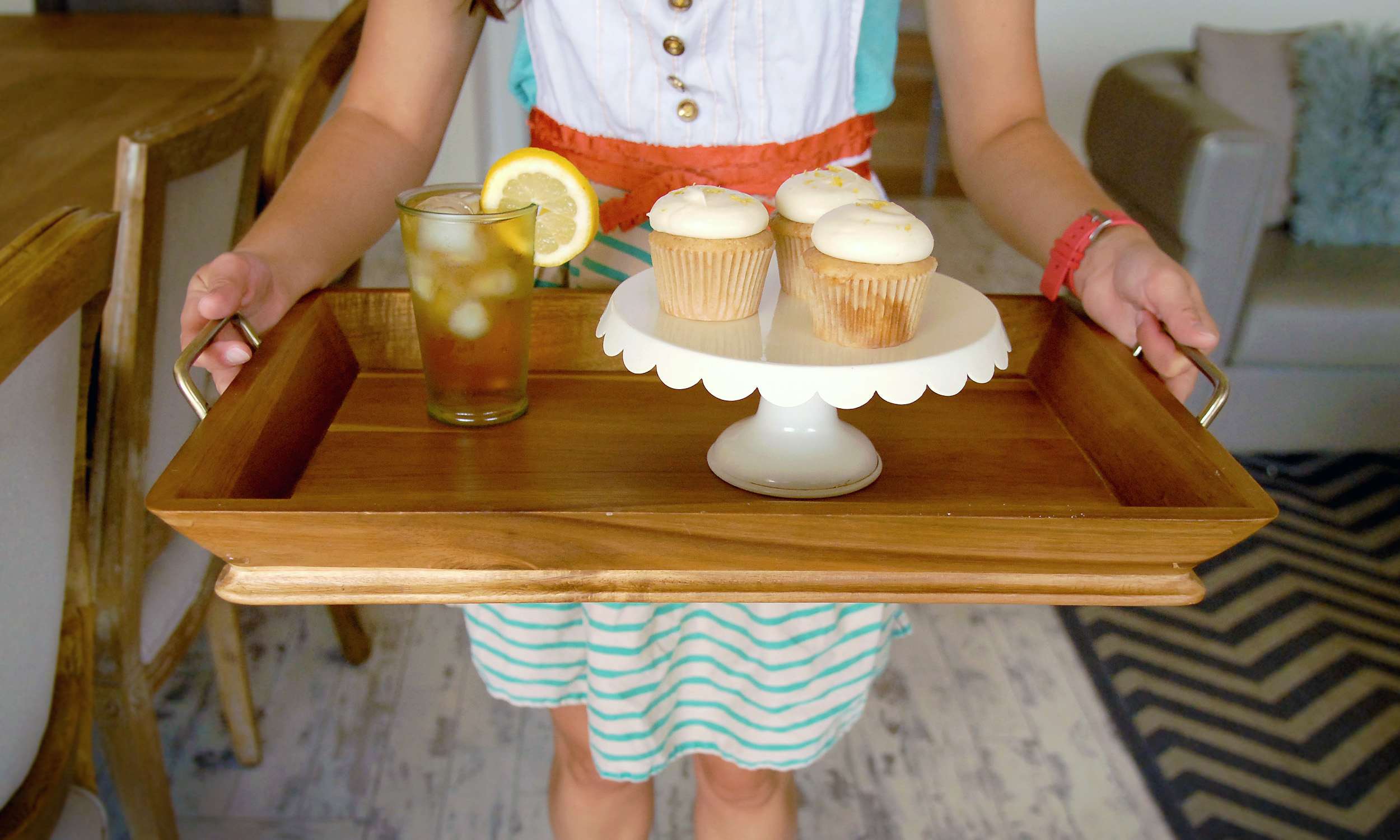 Sweet Tea Artisan Cupcake