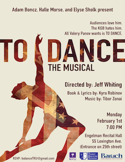 TO DANCE - THE MUSICAL