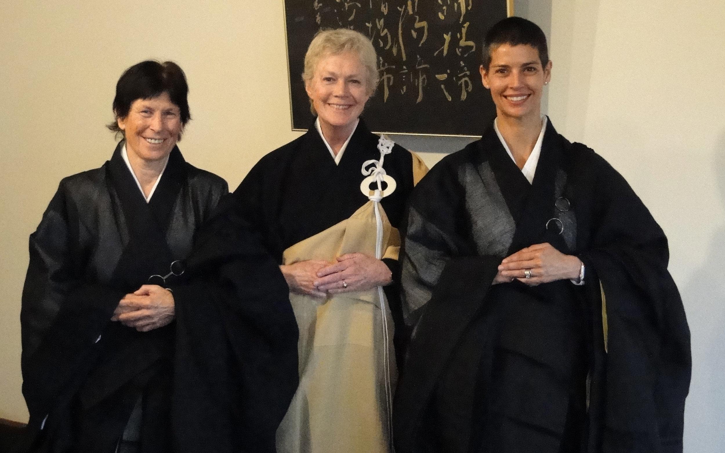 TOKUDO (priest ordination ceremony) for Yugen Kodo and Eryu Kokudo with Roshi Sanchi Shudo