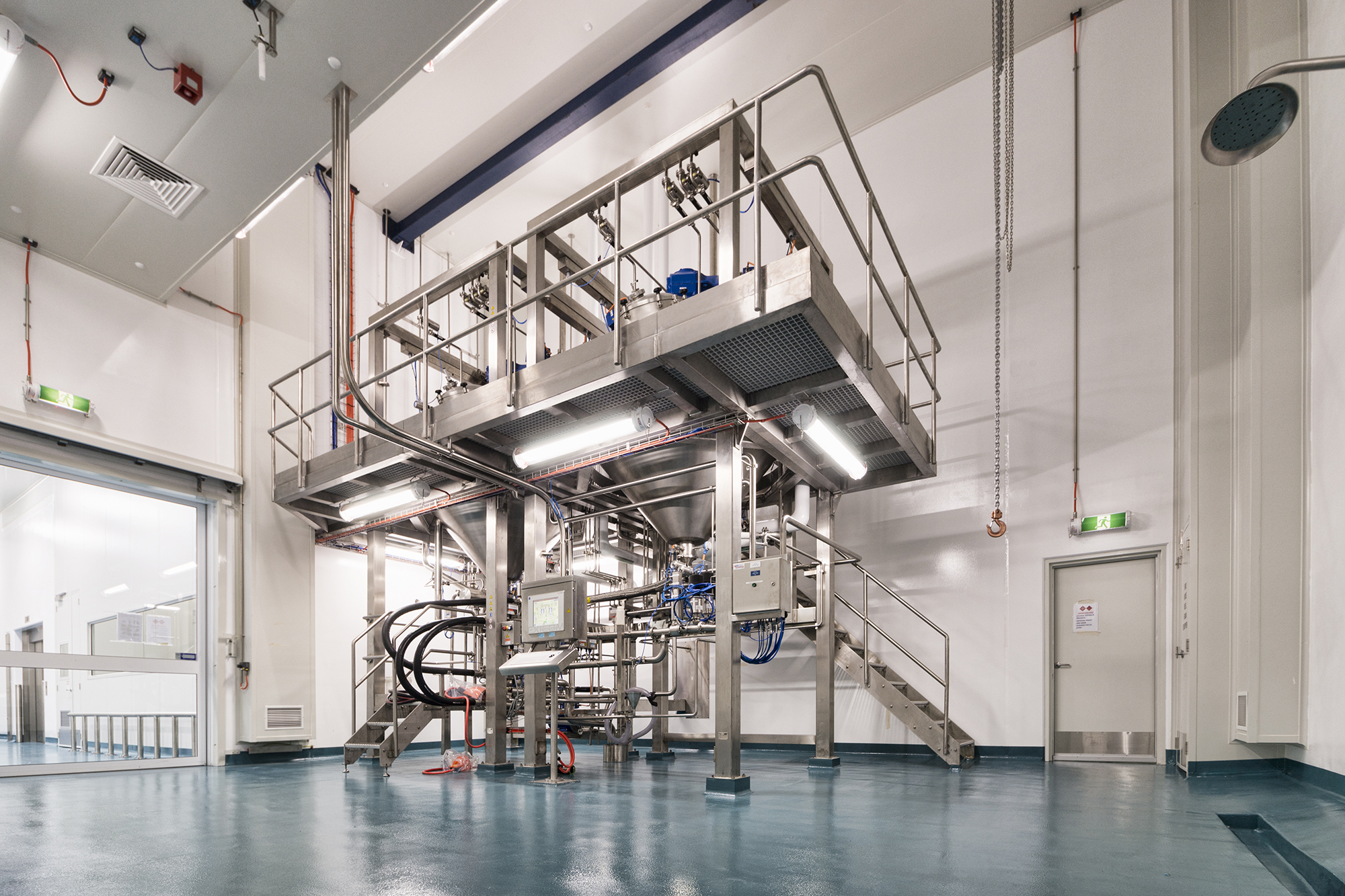 Therapeutic goods manufacturing plant
