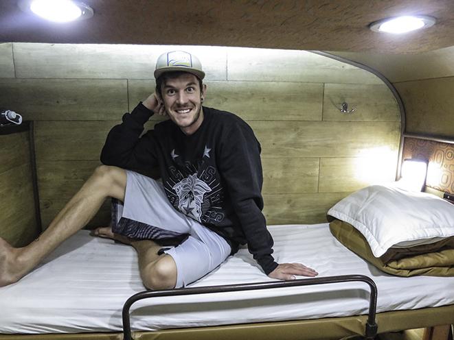 1st Class 4 Berth Sleeper in Vietnam - ROOMY!