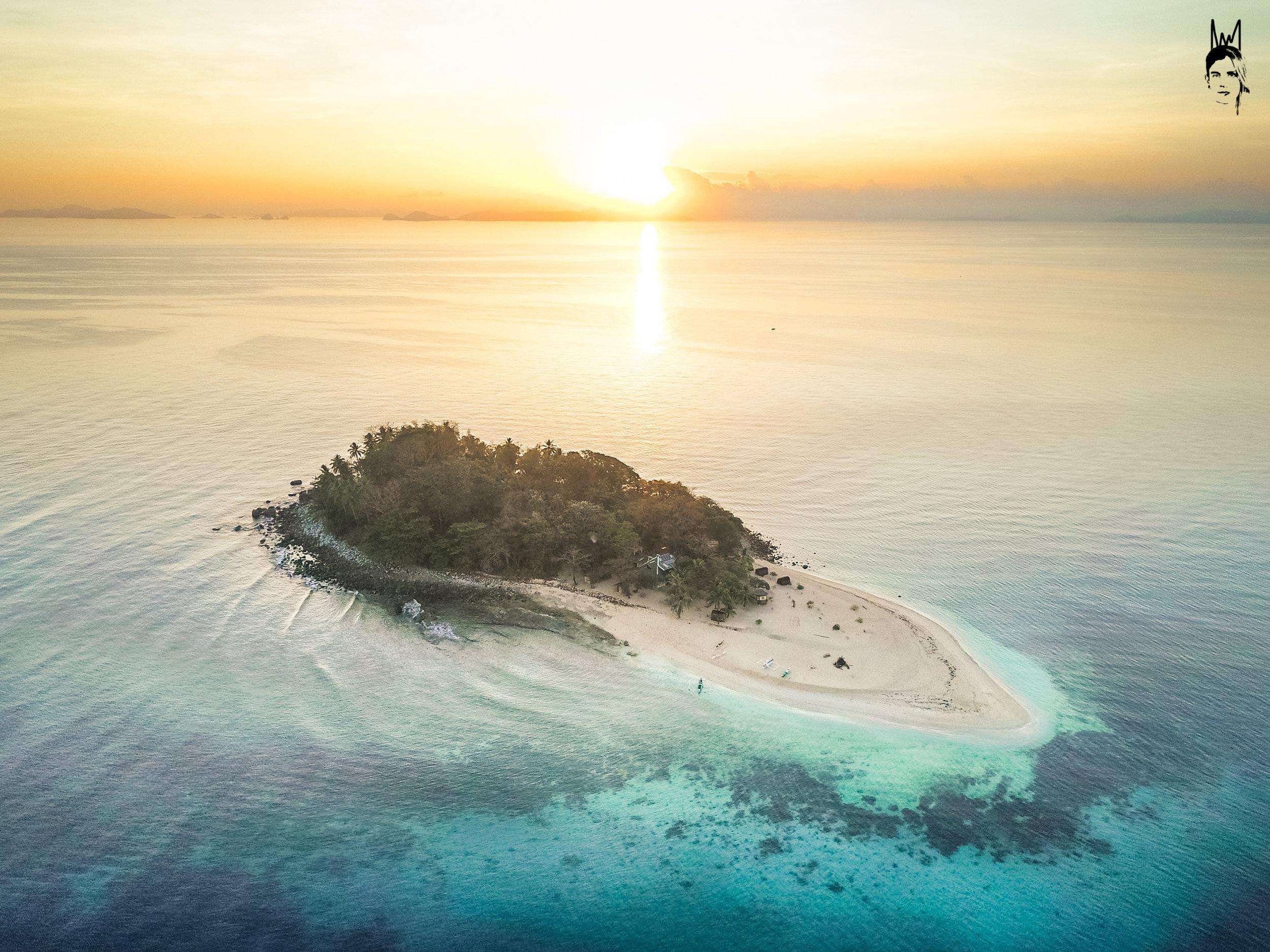 Next level sunrise on Brother Island 💙