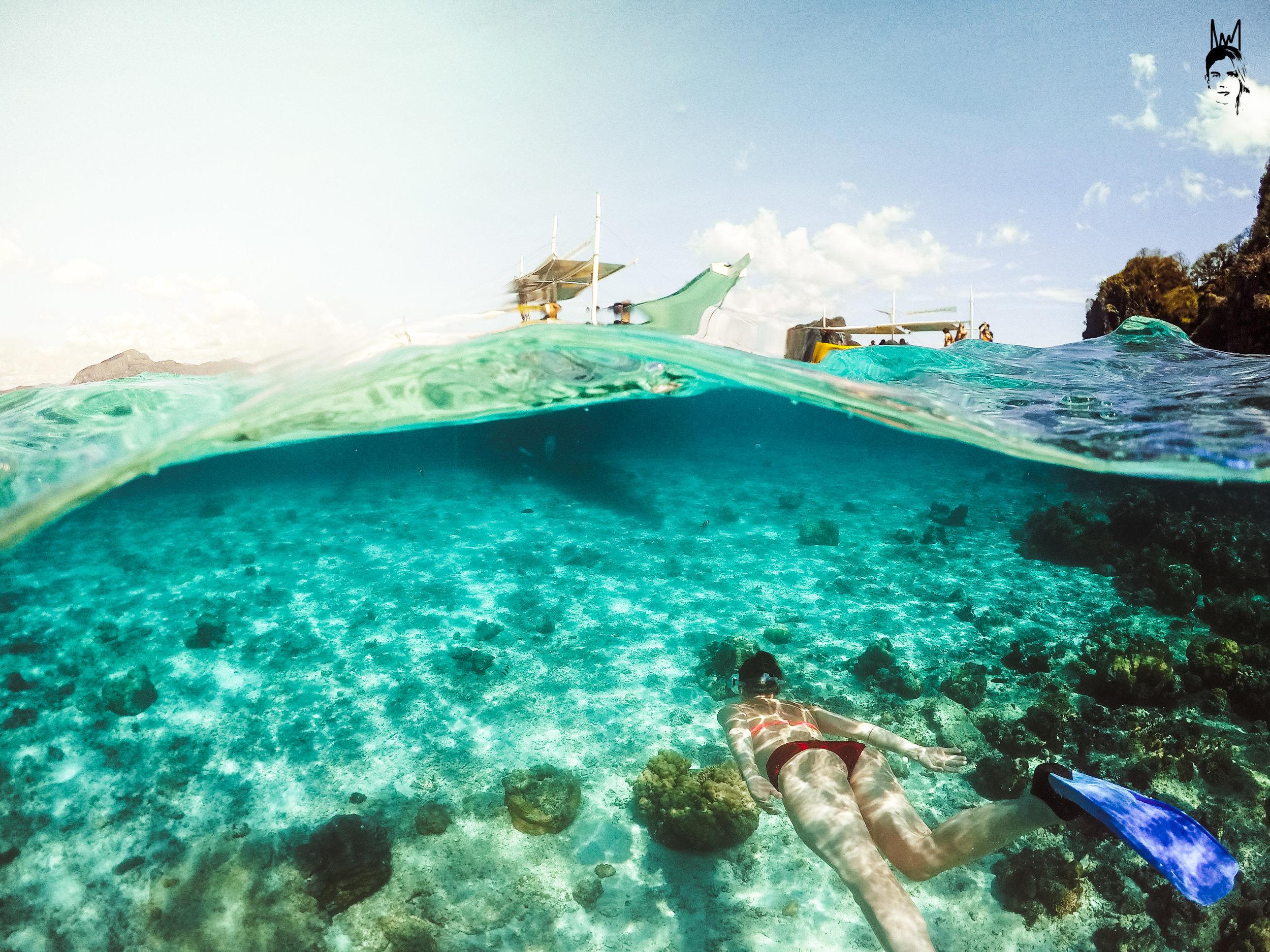 Snorkel spot on Tour A