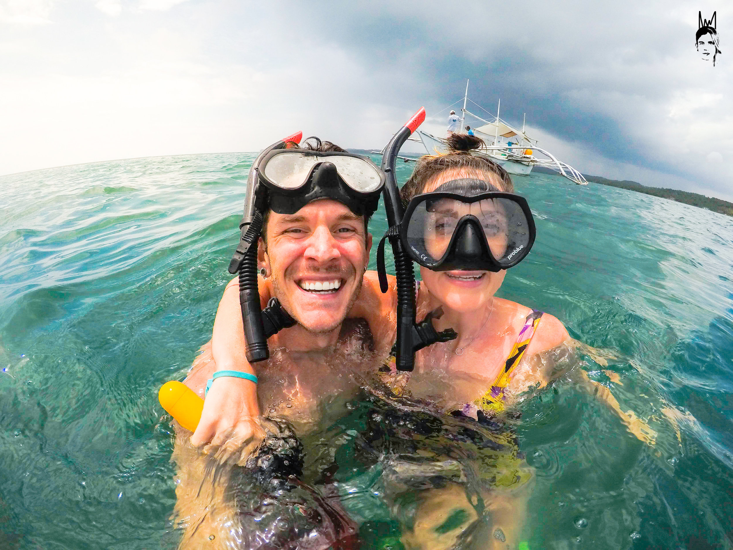Happiest kids after spotting the Whalesharks!