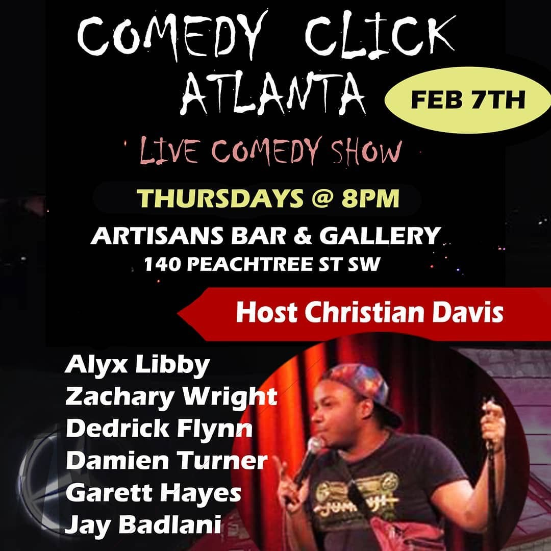 Comedy Click Atlanta Christian Davis