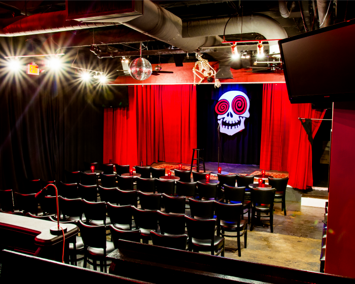 Atlanta Comedy Clubs, The Laughing Skull Lounge Vortex Midtown.png