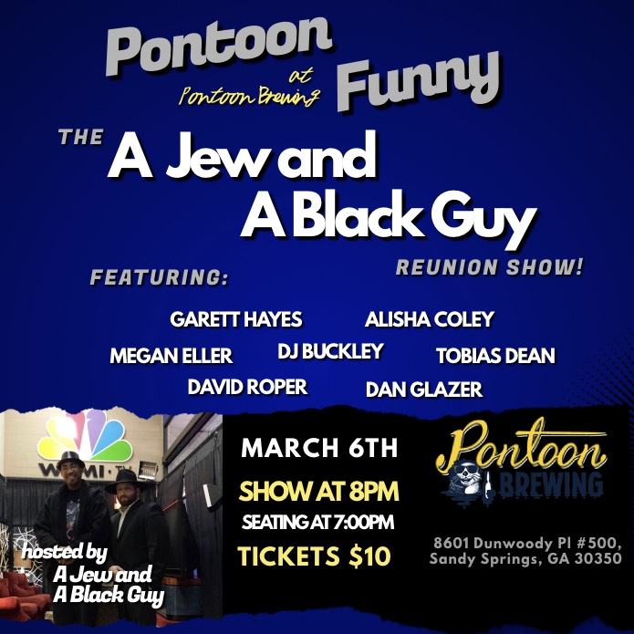 Well-Crafted Comedy at Pontoon Brewing