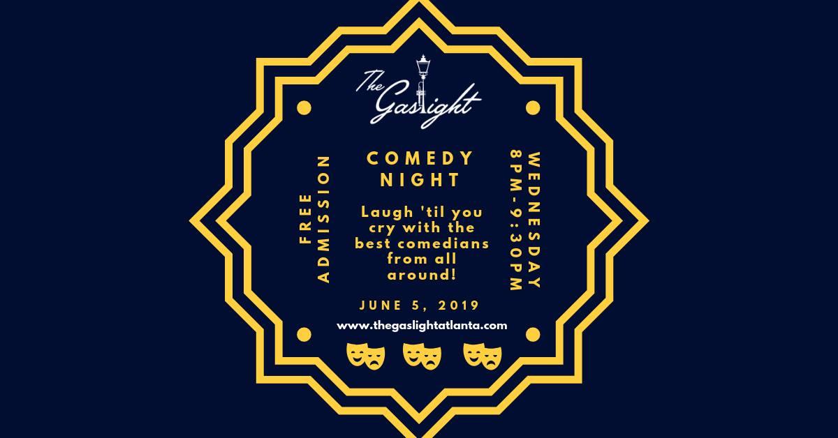 The Gaslight Comedy Night, Marietta Comedy Show
