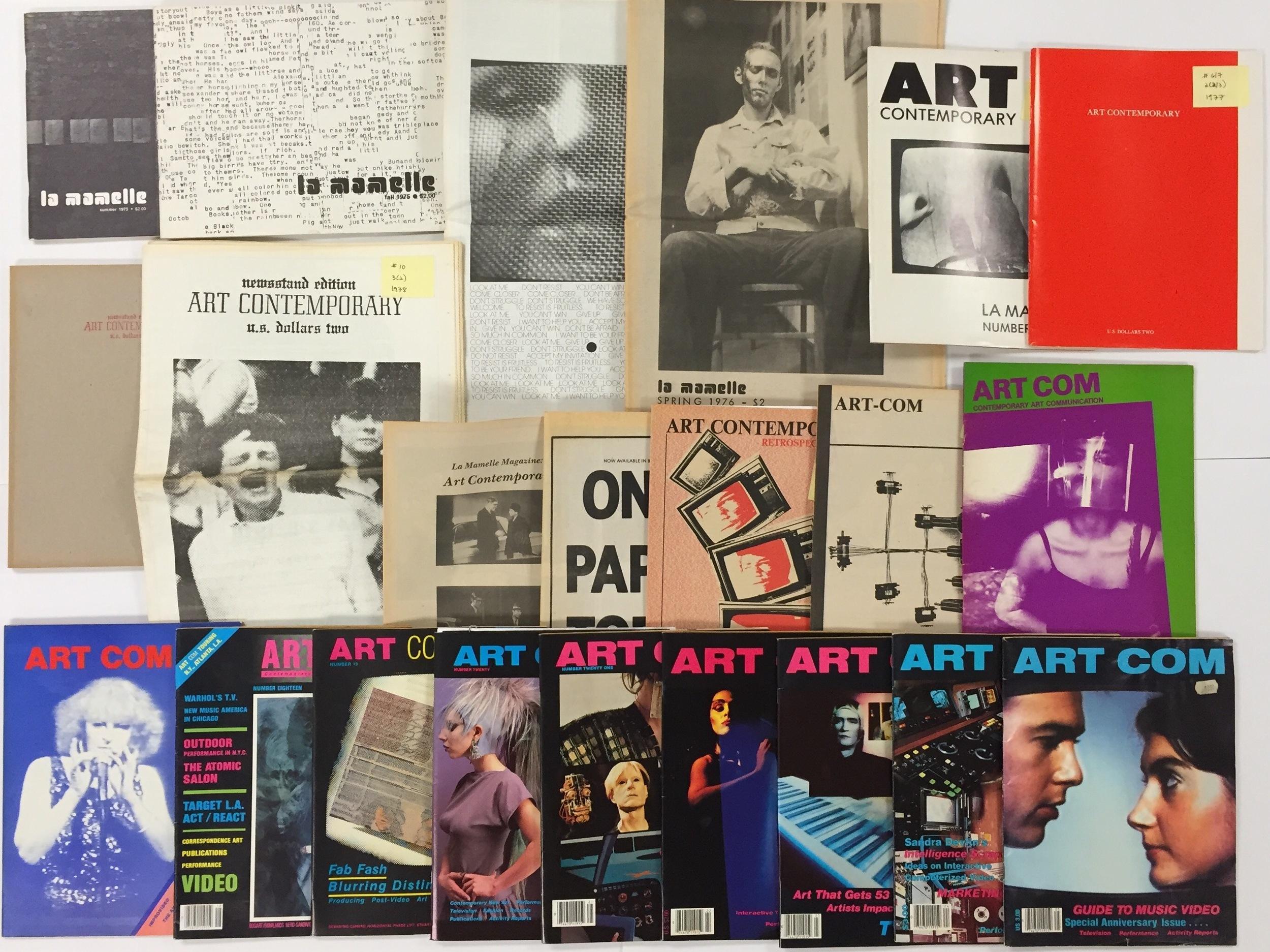 La Mamelle / Art Contemporary / Artcom Magazines