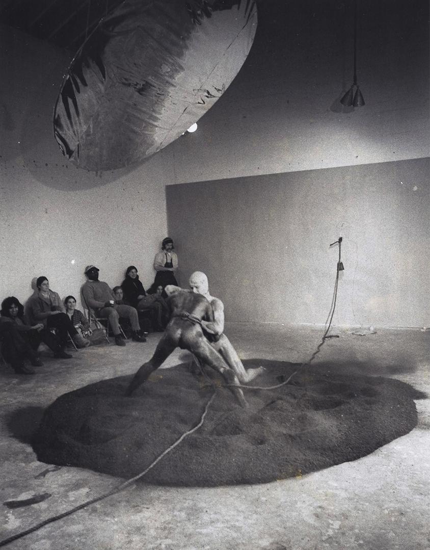 Darryl Sapien  Synthetic Ritual  (1971).