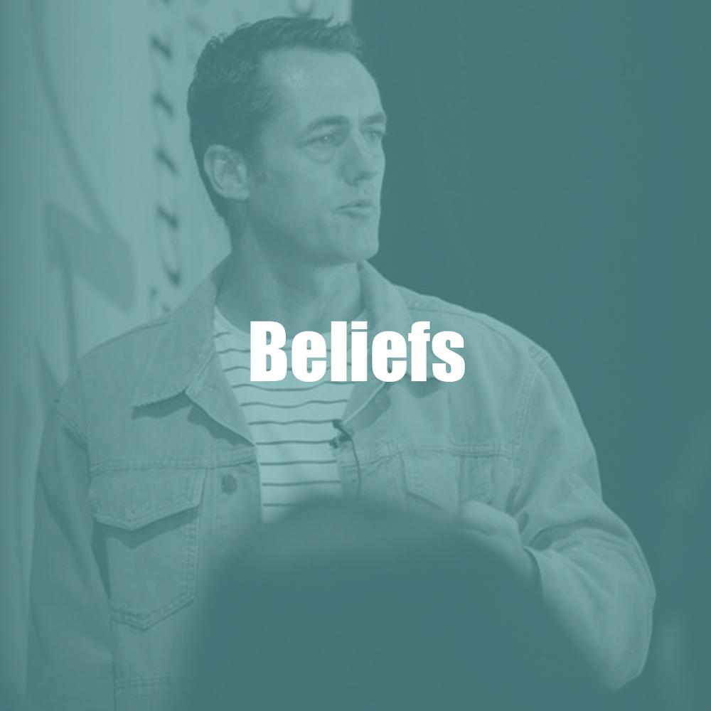 What we believe.