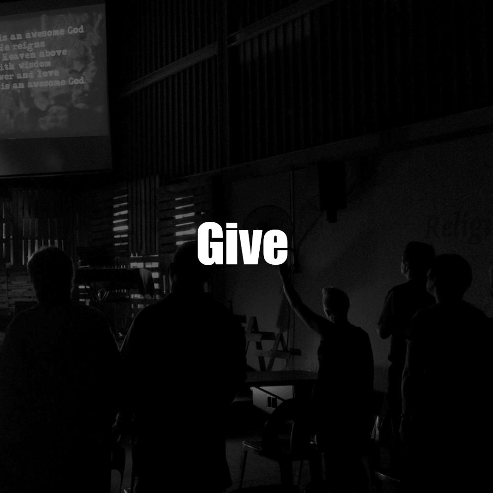 Online giving.