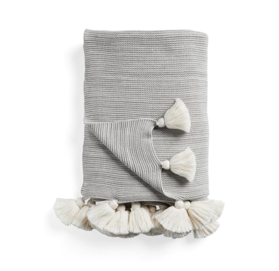 Knit Throw -