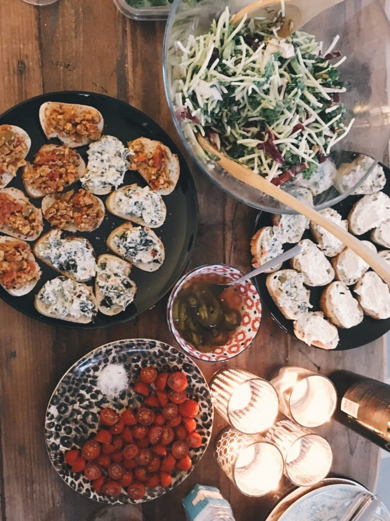 Appetizers for Movie Night