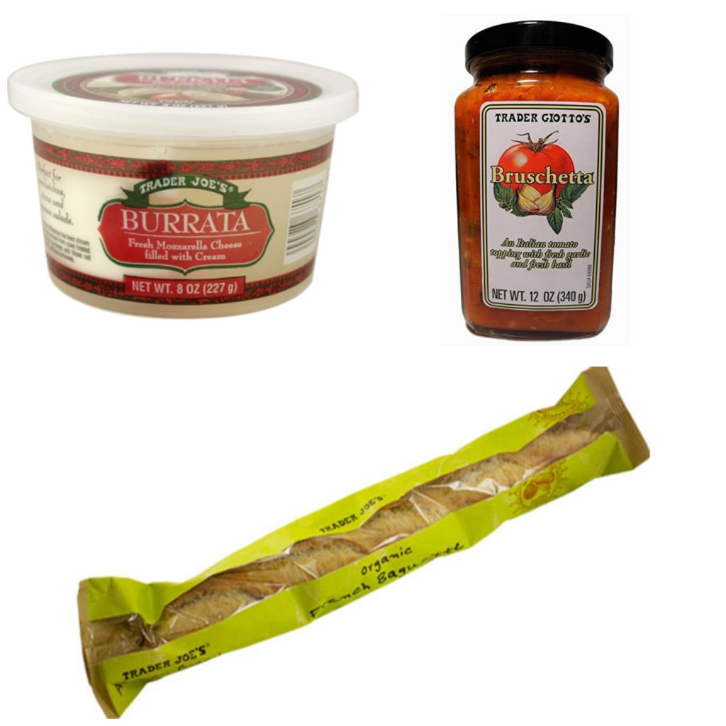 Bruschetta Ingredients at Trader Joe's