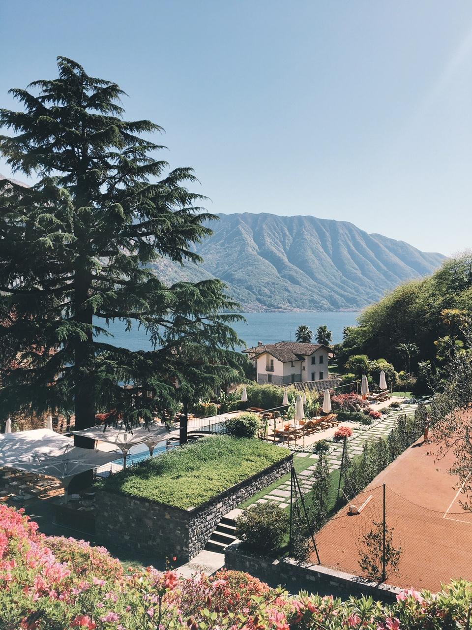 Grand Hotel Tremezzo pool, tennis courts, restaurants