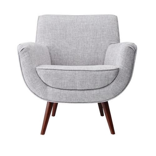 All Modern grey mid century chair