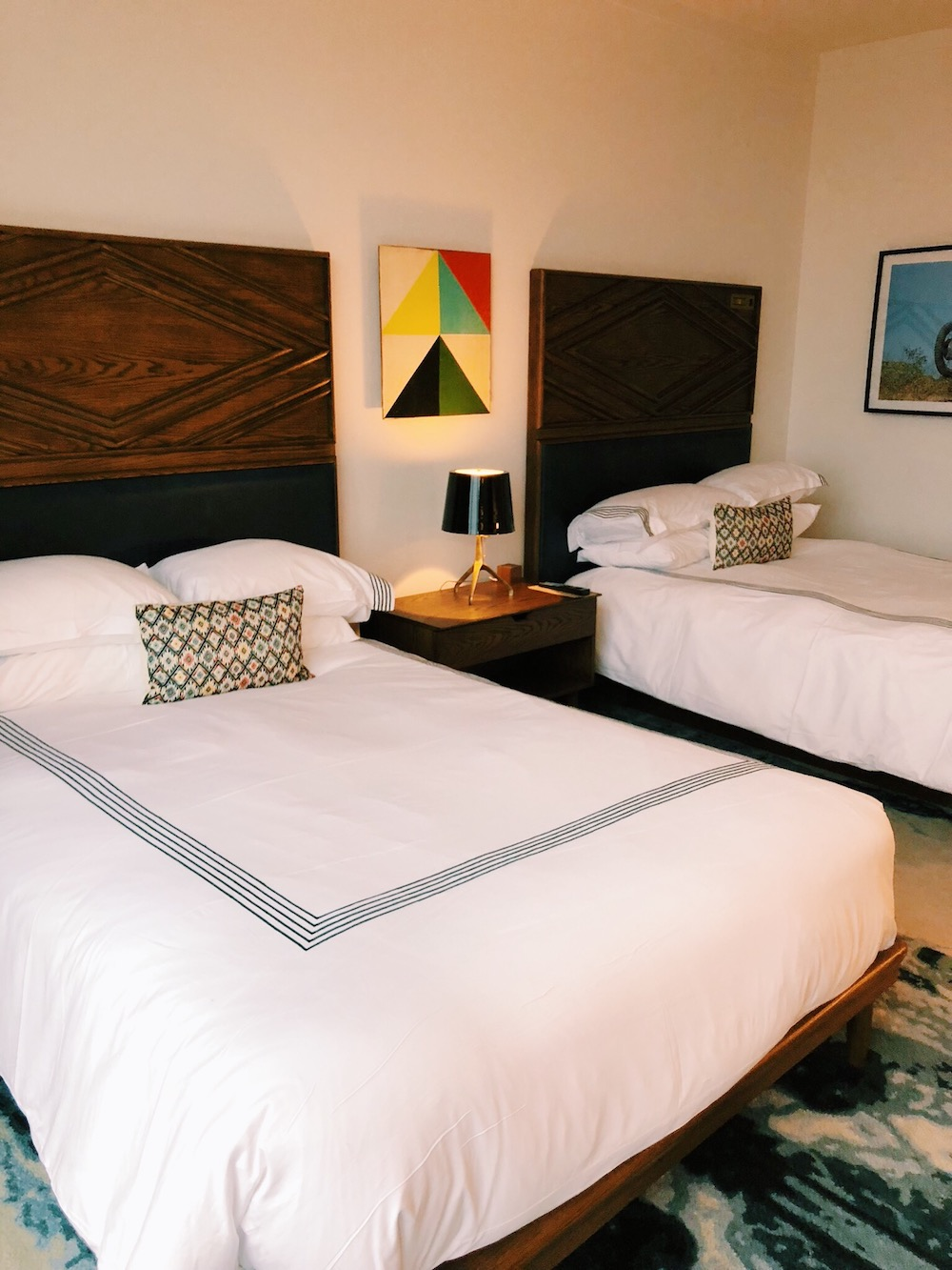 Beds at Thompson Guestroom