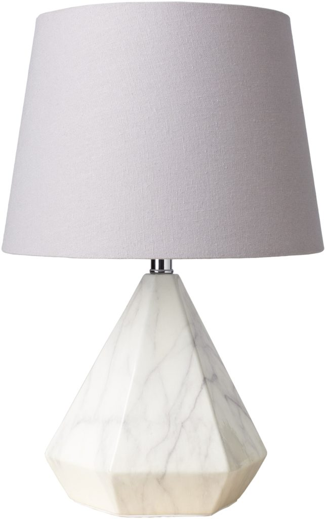 Marble base white lamp table lamp Surya from Lulu and Georgia