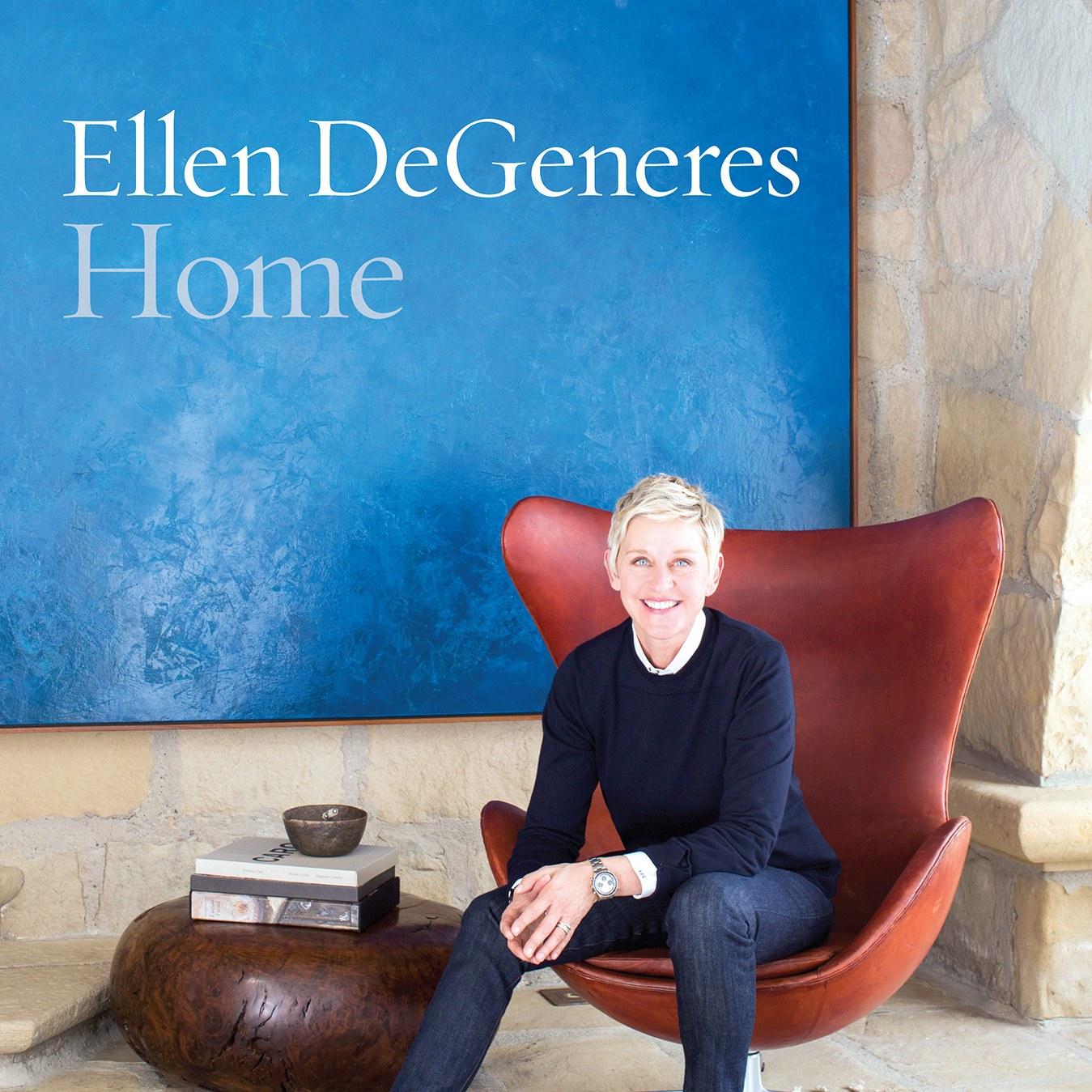 Home by Ellen Degeneres coffee table book ideas