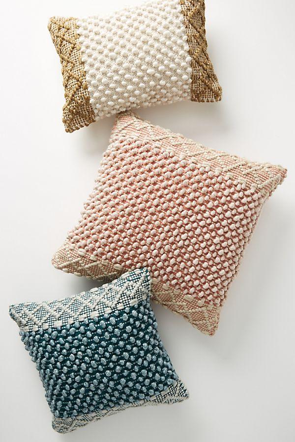 Joanna Gaines for Anthropologie Textured Eva Pillows