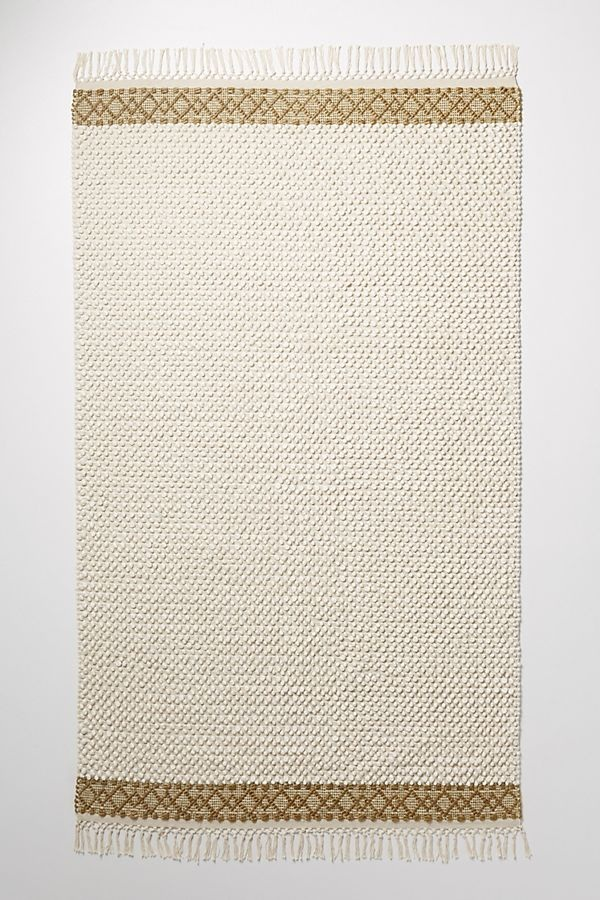 Joanna Gaines for Anthropologie Textured Eva Rug in Ivory