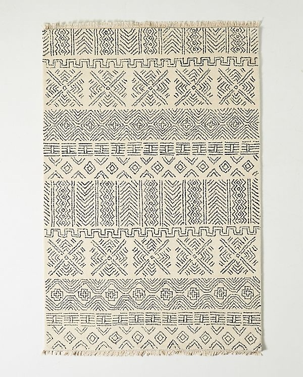 Joanna Gaines for Anthropologie Olive Rug in Black & White