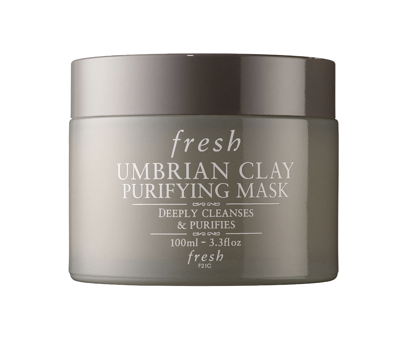 Fresh UmbriaN Clay Mask - fresh Umbrian Clay Purifying Mask, $58; SephoraWe previously used Fresh's Umbrian Clay Mattifying Mask that came in a white tube, but it looks like that sku has been discontinued and replaced with this purifying mask. The product lasts forever, so you'll get a ton of bang for your buck. Use it as a spot treatment at night or a full-on mask!