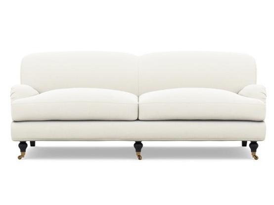"""Rose"" - Custom sofa, $1,900; Interior Define x The Everygirl"