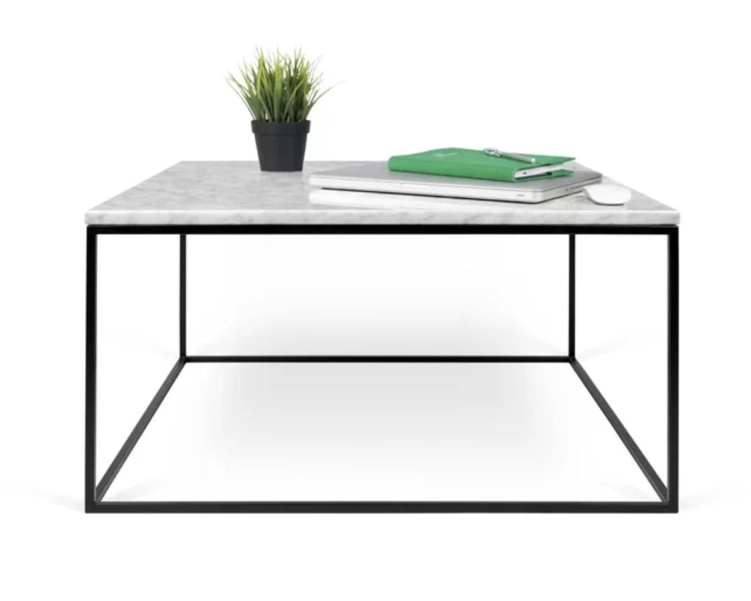 """""""soltane"""" - Marble coffee table by Brayden Studio, $720; Wayfair"""