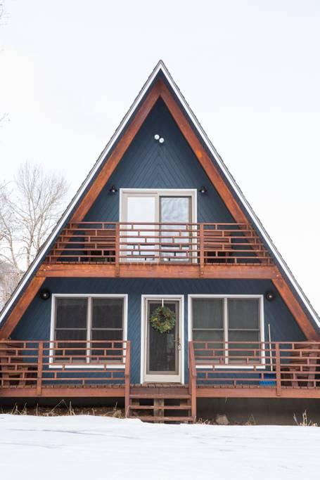 A-Frame Haus Exterior
