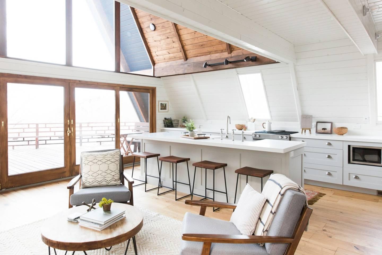 A-Frame Haus Kitchen
