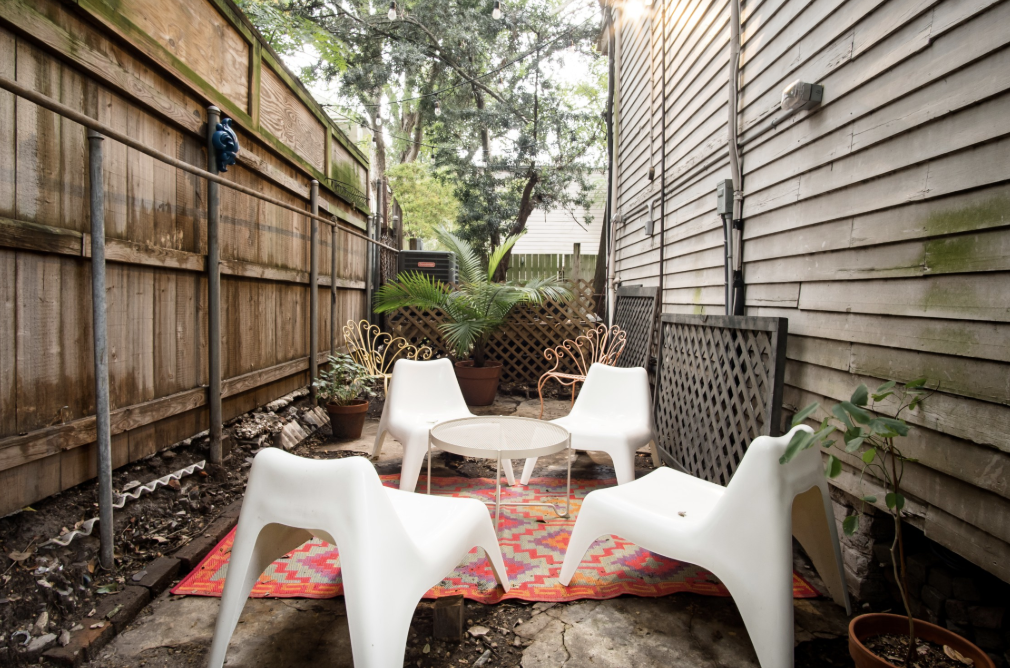 New Orleans Airbnb Patio