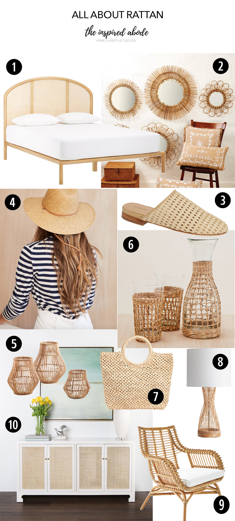 Style Trend: Natural Rattan & Woven Fashion Accessories & Home Décor