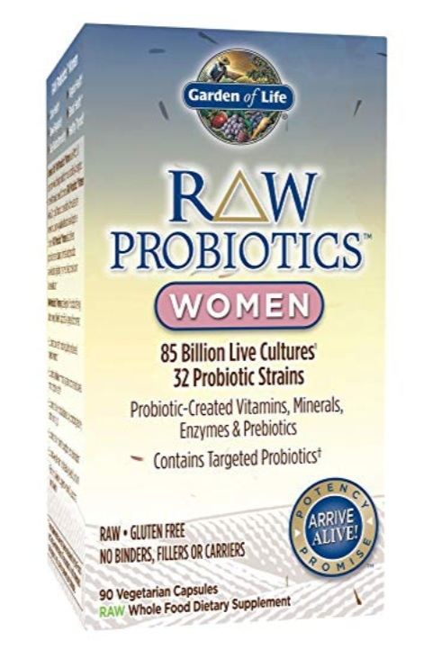 Garden of life - Raw Probiotics for Women, $38.49 for 90 tablets; AmazonThese capsules contain 85 billion CFU with 32 different probiotic strains. We like how versatile this choice is!