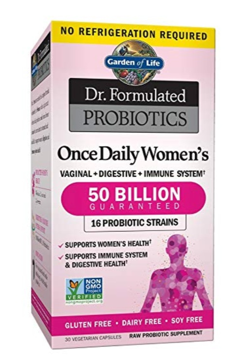 Garden of Life - Once Daily Probiotic, $23.51 for 30 capsules; AmazonIf you're the type to forget taking your vitamins & supplements, this once-daily formula will be the best option for you.