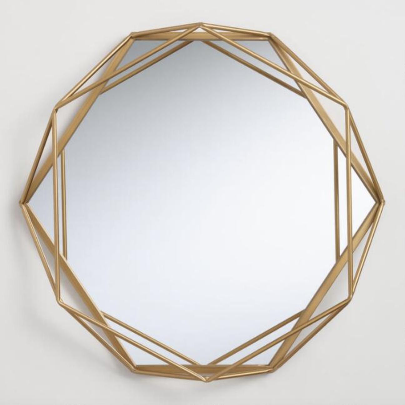 Geometric - Round gold 26
