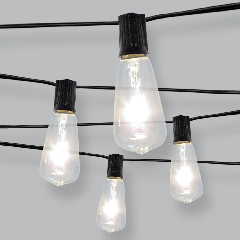 """Filament"" bulb - Outdoor string lights, $30; Target"