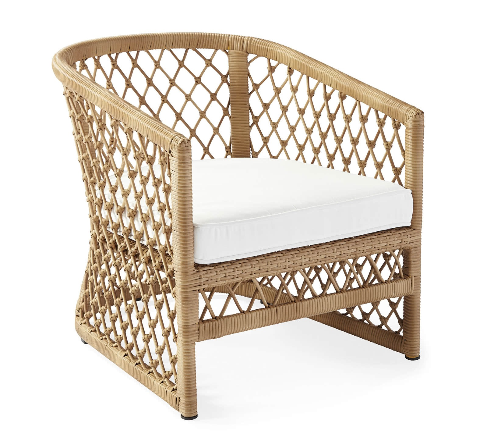 """""""Capistrano"""" - Outdoor lounge chair, $998; Serena & Lily"""
