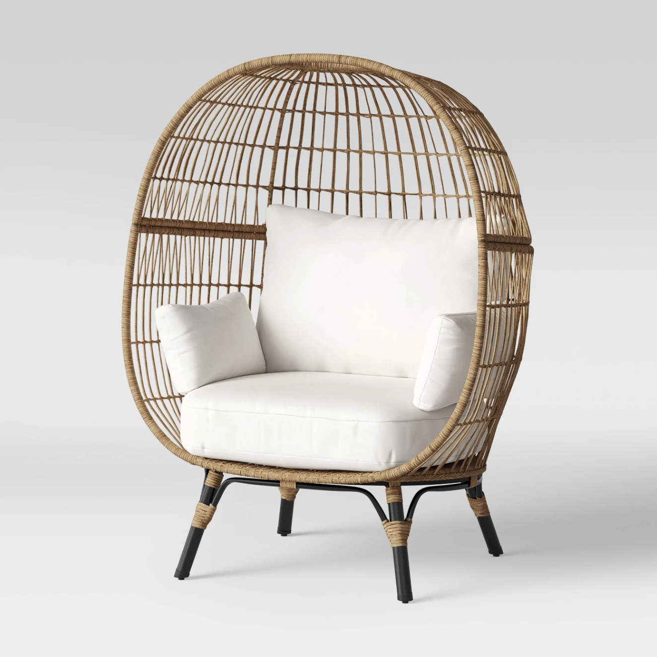 """""""Egg"""" chair - Southport patio chair, $400; Target"""