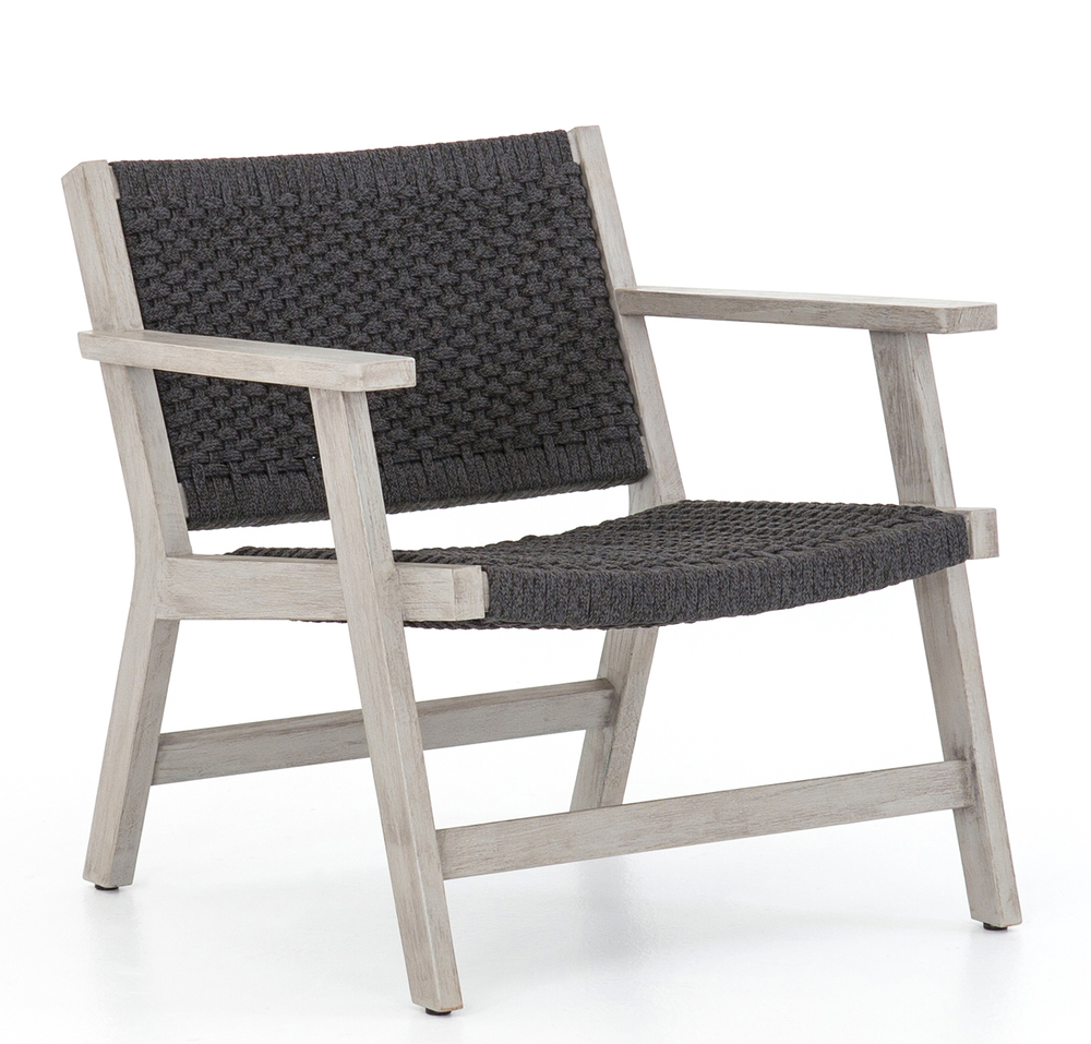"""YLVA"" - Braided indoor/outdoor chair, $546; Lulu & Georgia"