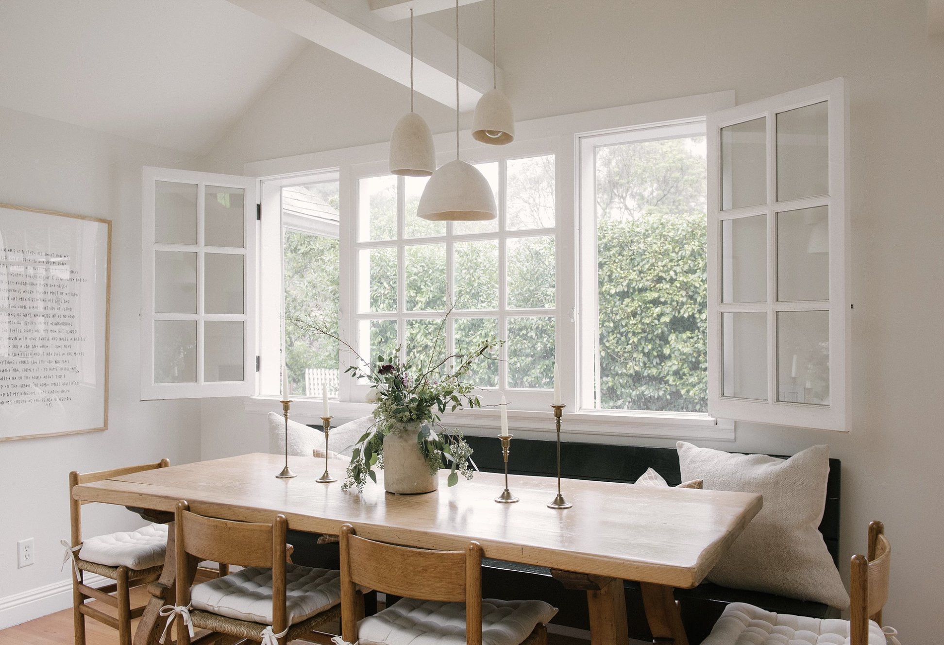 Neutral Dining Room | JDP Interiors | Stanley Project